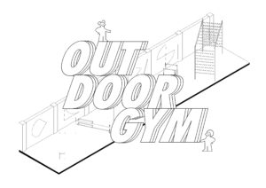 Outdoor gym cover